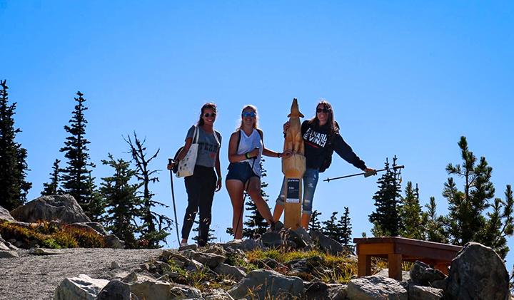 Randonnée à Whistler 1 - Étudier au Canada : Christelle, promo 2019, en échange à Vancouver