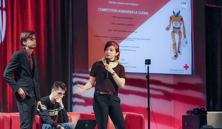 """communication lost iim - Serious game : une équipe IIM remporte la compétition organisée par la Croix Rouge """"Humaniser la guerre"""""""