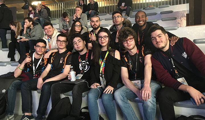 equipe ldv esport gamers assembly - L'équipe LDV E-sport remporte le titre de Champion Universitaire du tournoi Esport Student Series