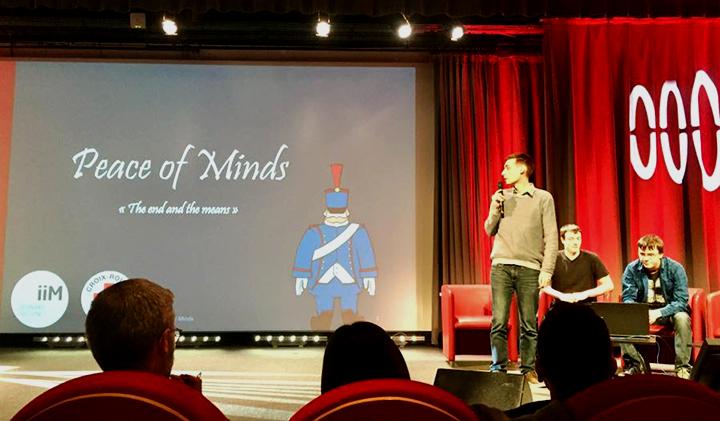 """presentation piece of minds croix rouge - Serious game : une équipe IIM remporte la compétition organisée par la Croix Rouge """"Humaniser la guerre"""""""