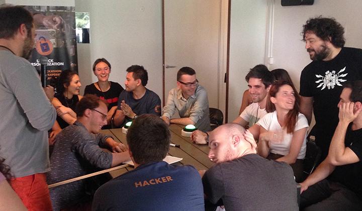 6 hackathon LouisVuitton - Miriam, promo 2019, Microsoft Student Partner et spécialiste Hololens