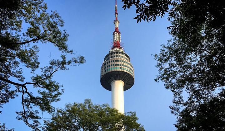 Namsan Tower - Étudier en Corée : Sébastien, promo 2019, en échange à Kyonggi University