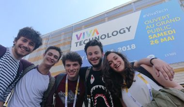 iim vivatech 380x222 - At Viva Technology, IIM Students Scouted for the Best Innovations