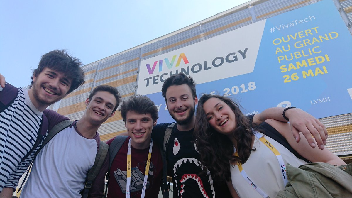 iim vivatech - A Viva Technology, les étudiants de l'IIM défrichent l'innovation