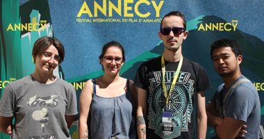 Festival annecy iim 1 380x200 - Les étudiants de l'axe Animation 3D à la 5ème édition des Journées du RECA