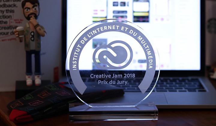 adobe creative jam - Une journée pour réaliser un prototype lors de l'Adobe Creative Jam
