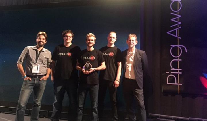 impulsion ping award - Impulsion : le jeu vidéo sort sur Steam et est nominé au BIG festival au Brésil