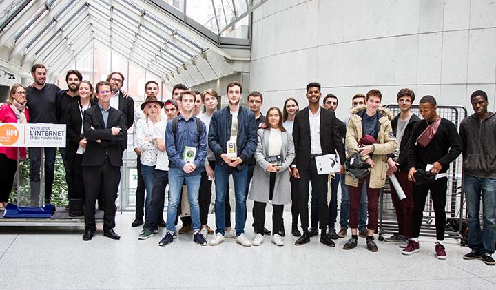 showroom iim gagnants - Journée Showroom : développer un projet de A à Z