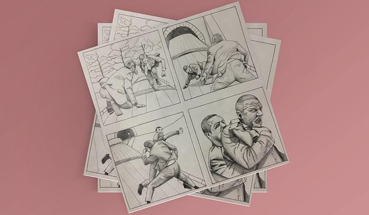 storyboard diane james bond - Créer un storyboard grâce au dessin d'anatomie et à l'étude du mouvement