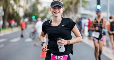 ironman course laura capellier yoann rochette 380x200 - Laura, Class of 2019, Took Second Place in her Category at the Ironman in Nice