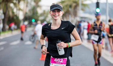 ironman course laura capellier yoann rochette 380x222 - Laura, Class of 2019, Took Second Place in her Category at the Ironman in Nice