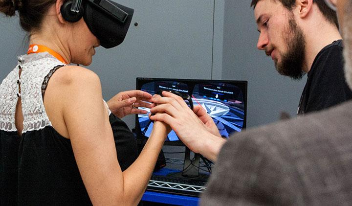 monde simultane showroom projet VR 3D - Animation 3D : Monde Simultané obtient un premier prix lors du showroom projet