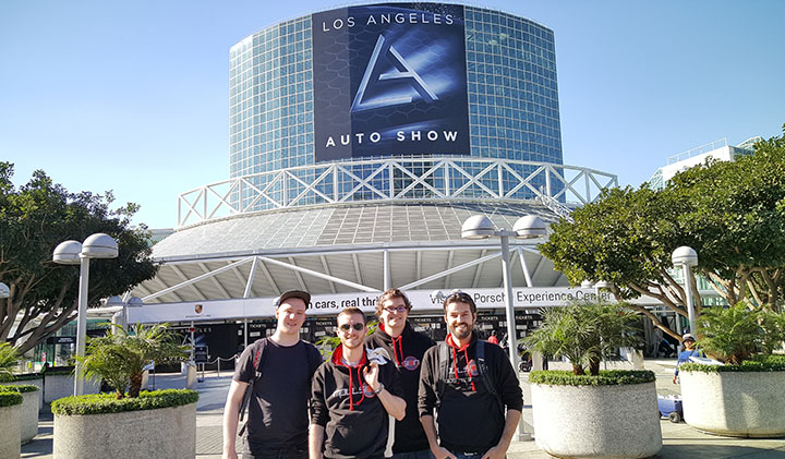 team impulsion game los angeles - Hugo, promo 2018, chef de projet chez Ubisoft