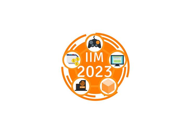 badge design IIM