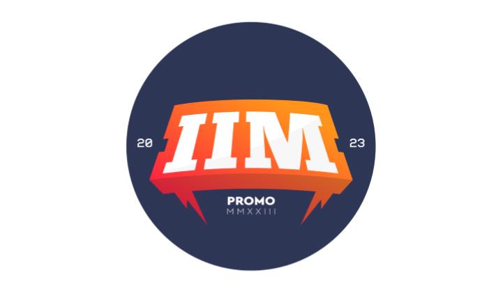 badge design promo 2023 iiM