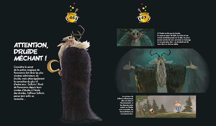 chara design - Marion, promo 2013, directrice de production d'Astérix : le Secret de la Potion Magique