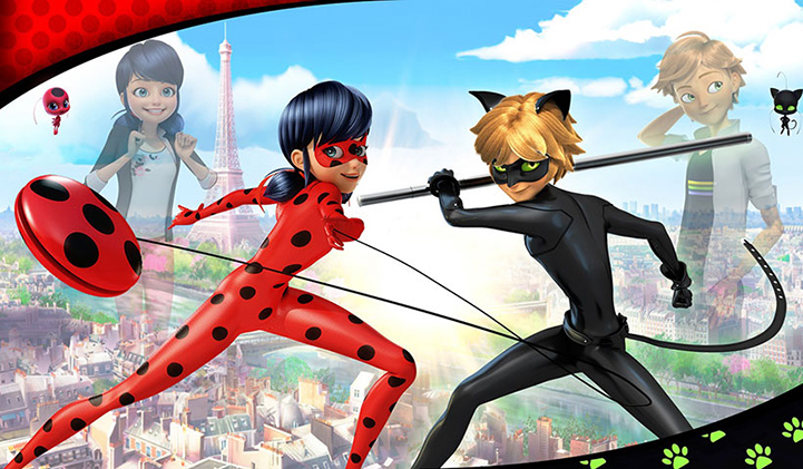 ladybug chat noir - 6 of the Best French Animation Studios