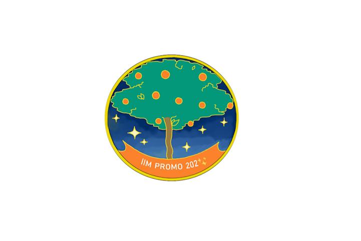 badge design orange