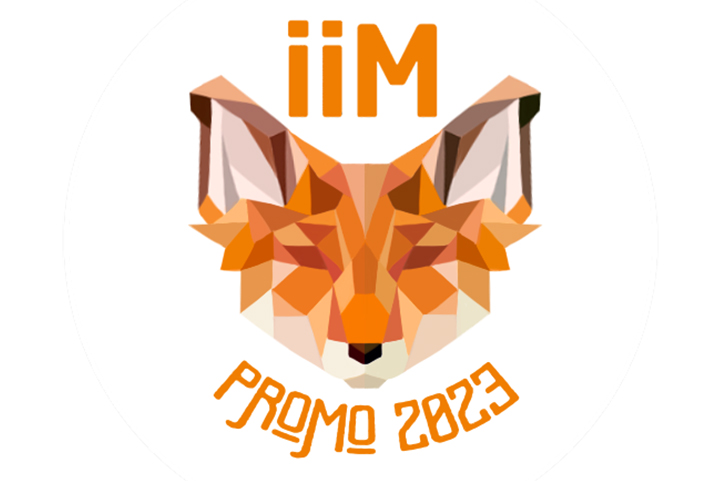 badge IIM renard design