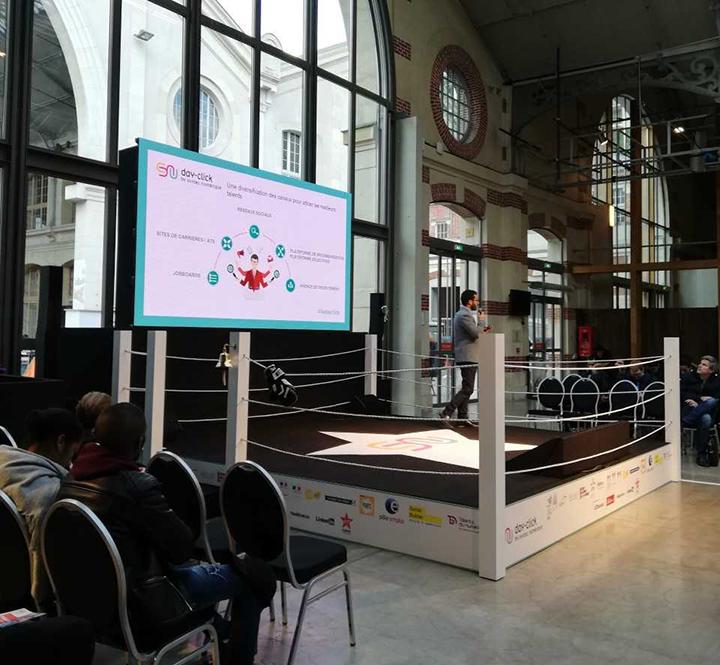 day click 104 - L'IIM au Day-Click, le Grand Salon des Métiers du Digital : Développement Web et Communication Digitale