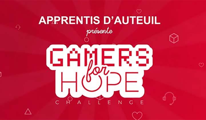 gaers for hope pour Apprentis d'Auteuil