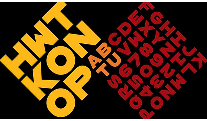 konop bon - 10 polices de caractère stylées en 2019