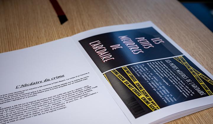 Book Graphic Design IIM - Réaliser un Book Graphic Design en un an, le défi des étudiants en année préparatoire à l'IIM