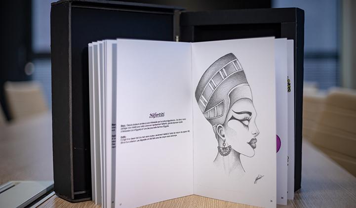 Book Graphic Design IIM A1 - Réaliser un Book Graphic Design en un an, le défi des étudiants en année préparatoire à l'IIM