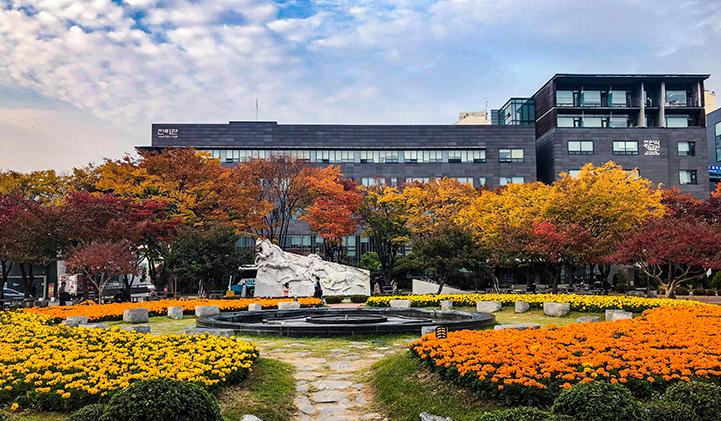 campus de Soongsil University  - Étudier en Corée du Sud : Théo, promo 2020, à la cool à Séoul pour un semestre à l'étranger