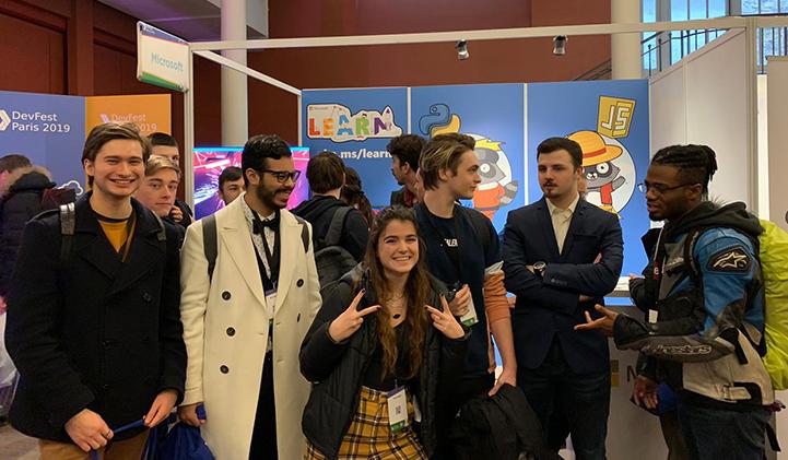 IIM DevFest 2019 - Les étudiants en Développement Web de l'IIM à l'att-hack du DevFest 2019