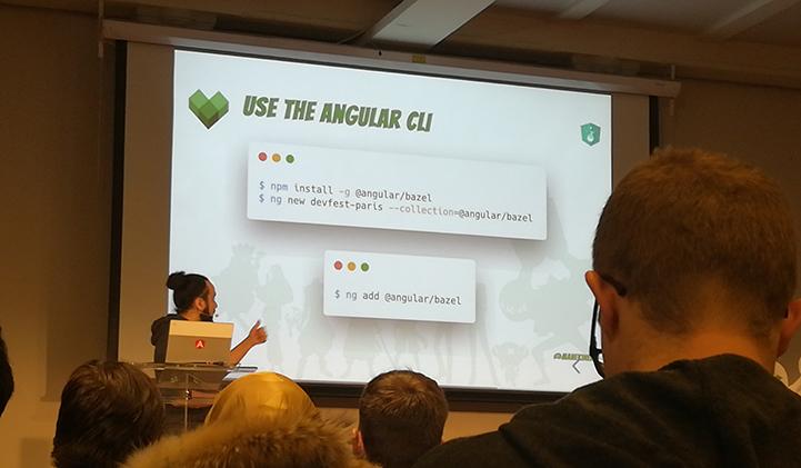IIM DevFest 2019 conference angular - Les étudiants en Développement Web de l'IIM à l'att-hack du DevFest 2019