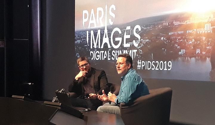 PIDS IIM John Knoll - PIDS 2019 : Les étudiants de l'axe Animation 3D rencontrent les professionnels de la création numérique