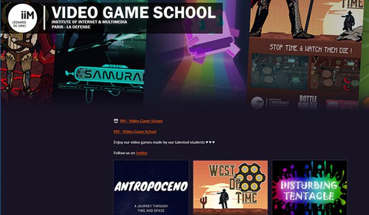IIM Itchio jeux video 1 - Itch.io : la plateforme tremplin pour les jeux vidéo des étudiants