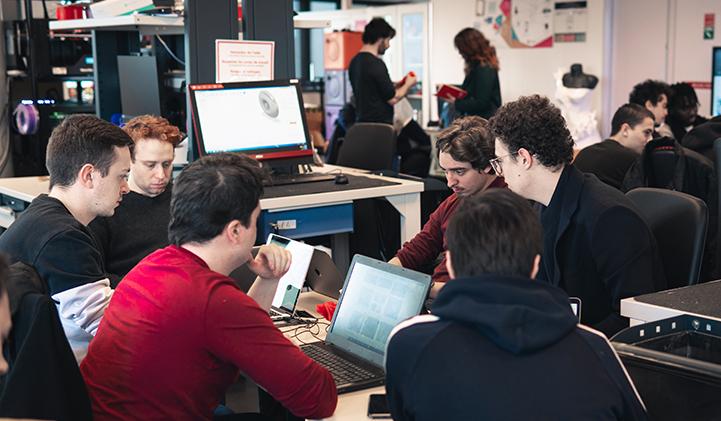 IIM electif impression 3D - Impression 3D : cinq jours pour confectionner un objet au Fab Lab du Pôle Léonard de Vinci