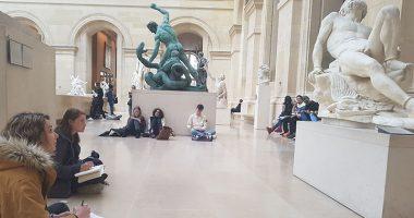 iim louvre musee module anatomie creation design 380x200 - Capturer le mouvement et le reproduire : atelier dessin sur l'anatomie humaine au Louvre