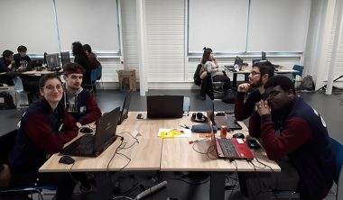 laval virtual IIM game jam 380x222 - Laval Virtual : les étudiants de l'IIM en immersion dans l'univers de la réalité augmentée