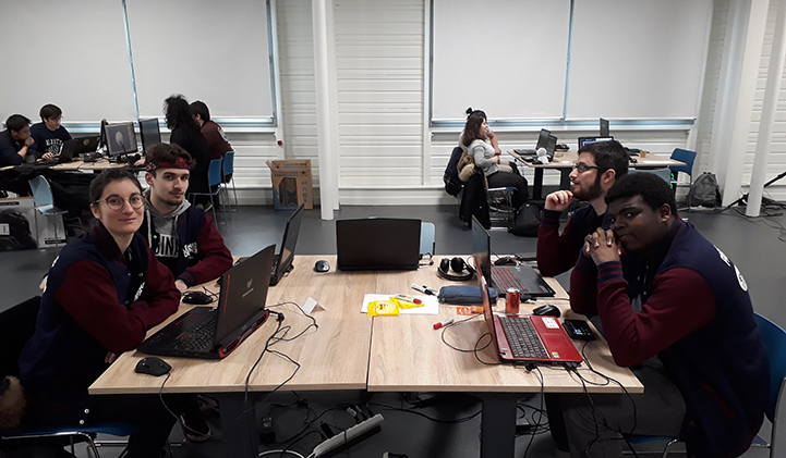 laval virtual IIM game jam - Laval Virtual : les étudiants de l'IIM en immersion dans l'univers de la réalité augmentée