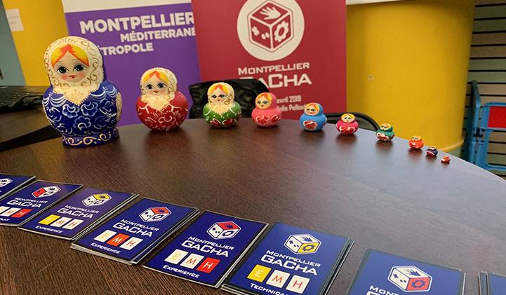IIM gacha 2019 poupee russes - GaCha 2019 : un étudiant fait partie de l'équipe gagnante de la game jam de montpellier