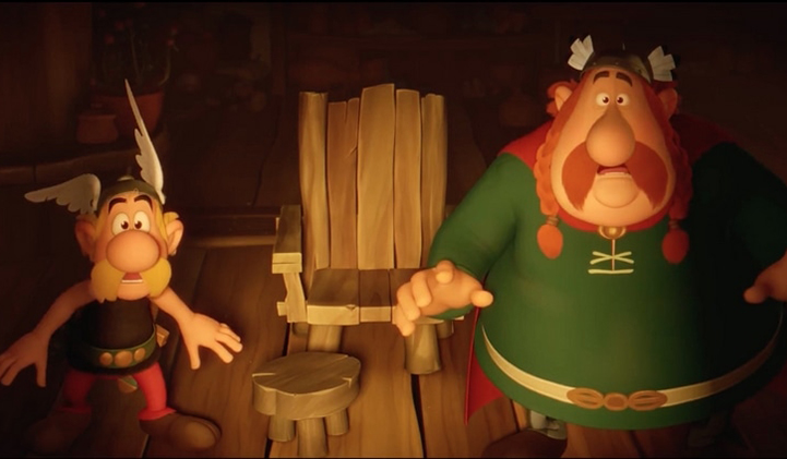 asterix - Asterix, the Secret of the Magic Potion: one of France's biggest 3D animation success