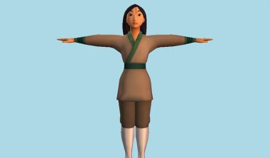 mulan 3D IIM RECA Disney 380x222 - Disney Art Challenge, le défi adressé aux écoles membres du RECA