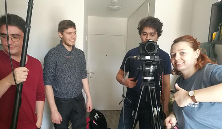 electif court metrage IIM cinema realisation video - Opération court-métrage : 5 jours pour tourner un film