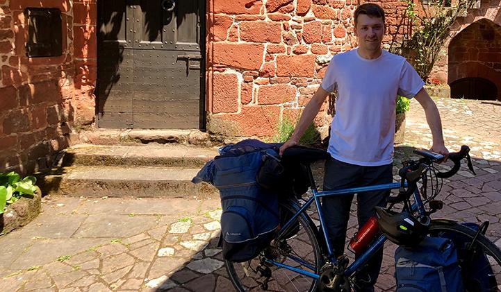 audoin tour de france a velo iim - Faire le tour de France à vélo : l'incroyable périple d'Audoin, promo 2018