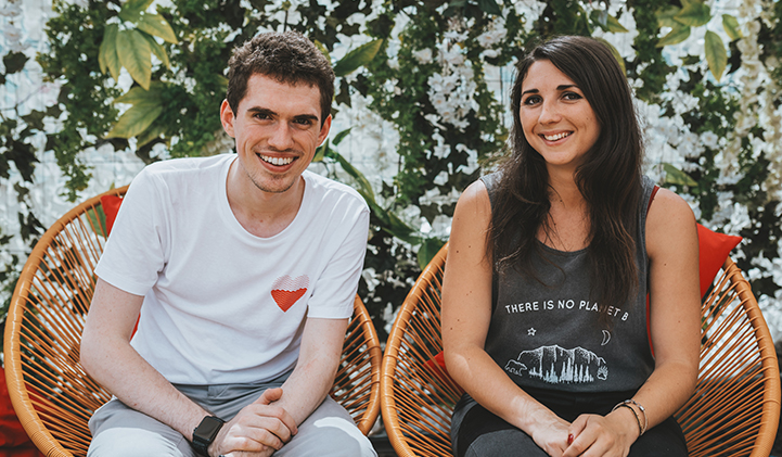 beethic julie alexis iim startup highco - BeEthic, la startup créée par deux étudiants du Parcours Startup, remporte 11 000 euros d'aide financière