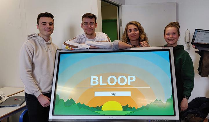 bloop creation design iim interface interactif - Bloop, une nouvelle approche du jeu vidéo grâce au design interactif