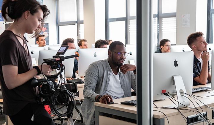 adobe success story creation design iim  - Dans les coulisses du tournage de l'Adobe Success Story de trois étudiants en Création & Design