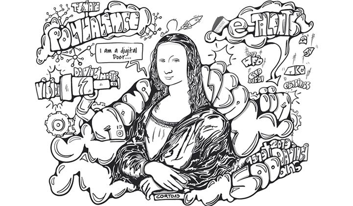 joconde iim - Le T-Shape de l'IIM à l'image de Léonard de Vinci