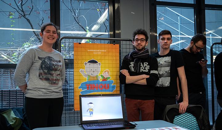 tinou bap 2019 showroom aimation 3D IIM - Comment adapter un livre pour enfant en série animée ?
