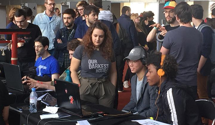 Salon Indiecade IIM jeux video - L'axe Jeux Vidéo de l'IIM expose ses créations à IndieCade 2019