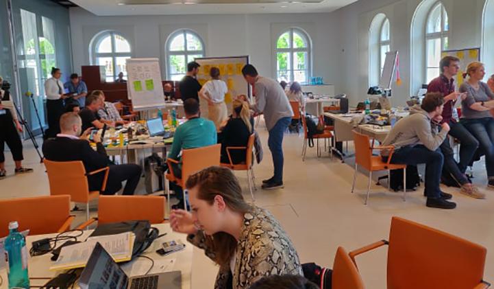 ludovic ardin m6 alternance hackhathon berlin - Mon alternance en tant que chef de projet innovation chez le Groupe M6  : Ludovic, promo 2020