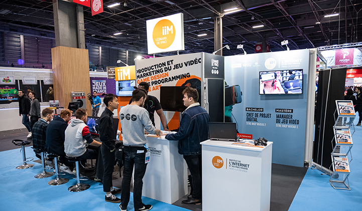 paris games week 2019 iim stand - Paris Games Week 2019 : un stand et une finale Esportive pour l'IIM